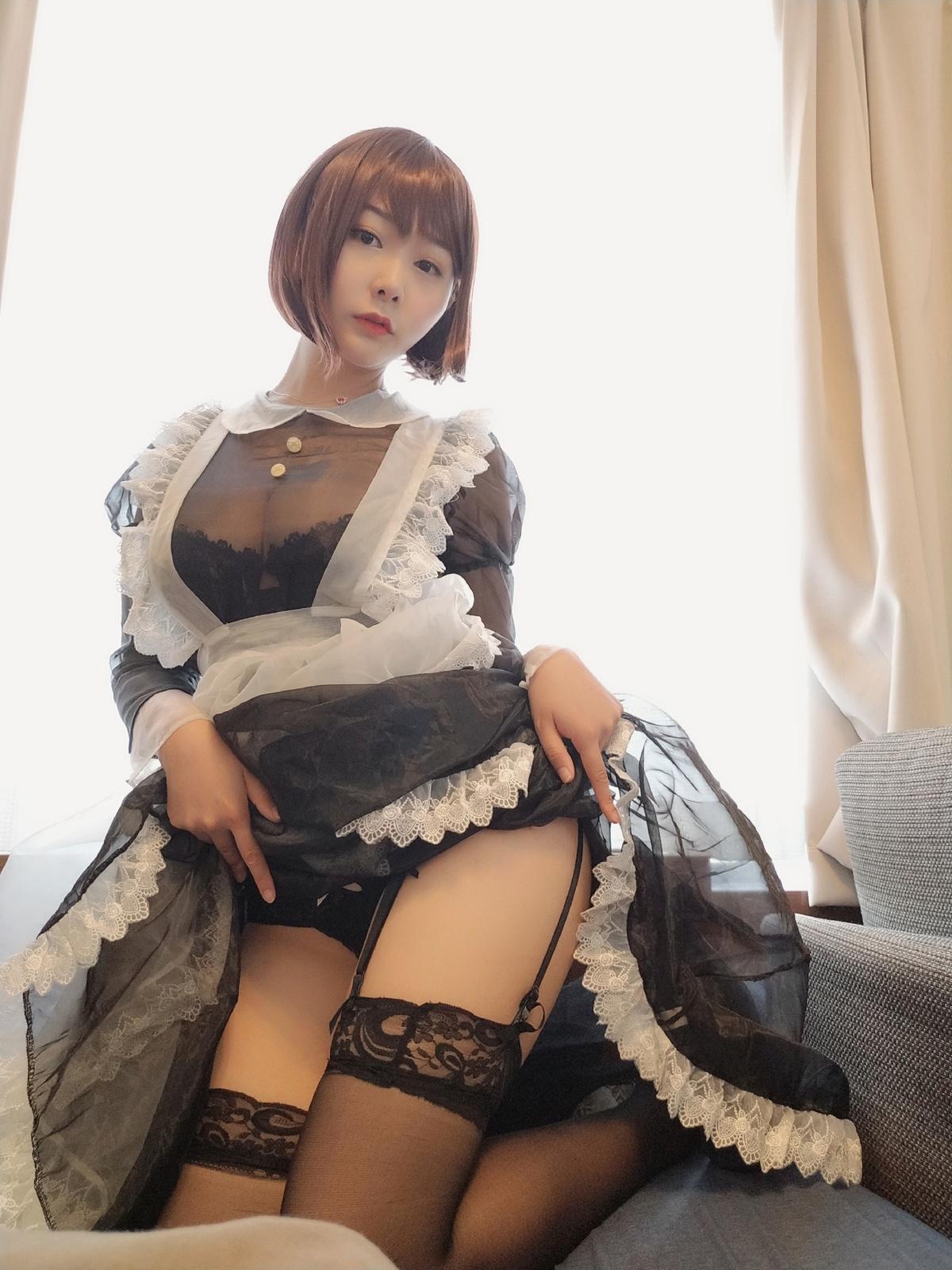 「微博萝莉」NO.17 透明女仆
