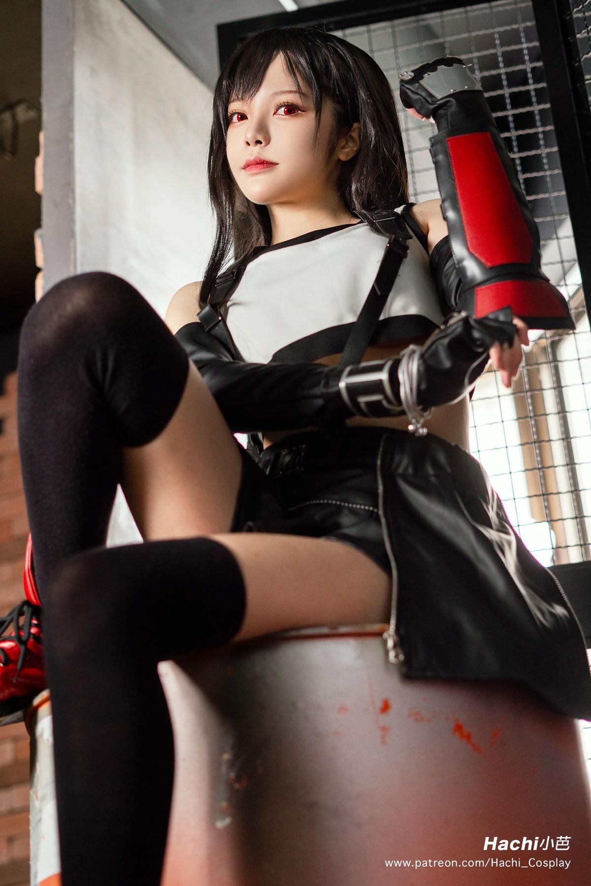 「微博萝莉」Hachi 小芭 NO.001 蒂法